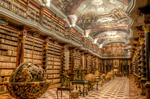 clementinum-library